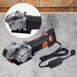 4800W Diamètre 42mm Machine à Façonner les murs Rainureuse électrique Fraiseuse à fente Trancheuse murale Découpeuse électrique de mur Machine à Sous avec 5 lames des scies