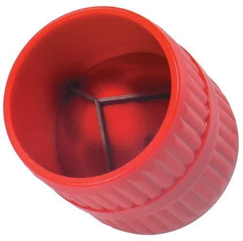 BETOY Lot de 2 ébavureurs intérieurs et extérieurs, 2 en 1 tubes en cuivre ébavureur pour intérieur et extérieur 6–38 mm corps en plastique