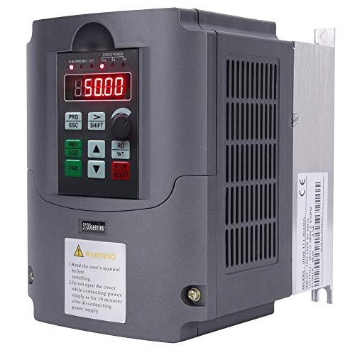 Convertisseur de fréquence variable, monophasé 220V à triphasé 380V 4KW 9100-1T3-00400G Variateur de fréquence VFD