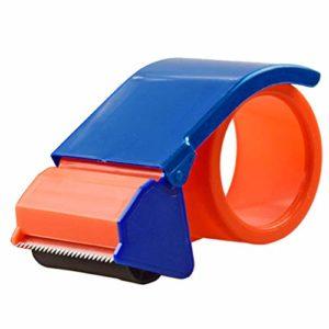 Distributeur de ruban 48 mm 60 mm de large Outil Packager Home Manuel Utter Express Arton Sealer Dispositif de scellage Côté Boîte d'emballage Adhésif de Bureau Baler (2 pouces)