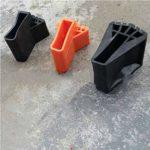 Échelle ronde couvre-pied exquis durable multi-fonction pliante échelle en forme d'éventail couvre-pied tapis antidérapant