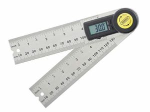 General Tools Digital Angle Finder Rule, 5-Inch (822)