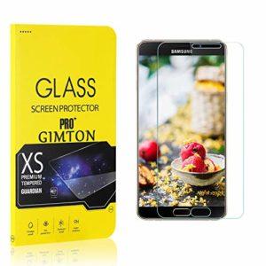 GIMTON Verre Trempé pour Galaxy A9 Star, Ultra Mince Protection en Verre Trempé Écran pour Samsung Galaxy A9 Star, Dureté 9H, Haute Transparent, 2 Pièces