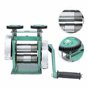 Machine de laminoir, fabrication manuelle de bijoux d'outil de fabrication de bijoux de machine de laminoir de combinaison