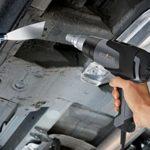 Pistolet à air chaud Steinel HG 2120 E, décapeur thermique professionnel 2200 W, 80-630°C, débit d'air 150-500 l/min, câble 2,2 m