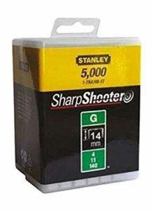 Stanley 1-TRA709-5T Lot de 5000 agrafes robustes de type G 14mm