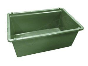 SUTTER wildwanne dans Le Coffre de Transport/Coffre de Transport pour Les Wild/80L/76x 50x 32cm/Qualité Alimentaire