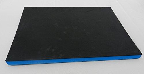 Tapis de tapis de tapis Outils Système universel Noir/Bleu (64,95€/m²)