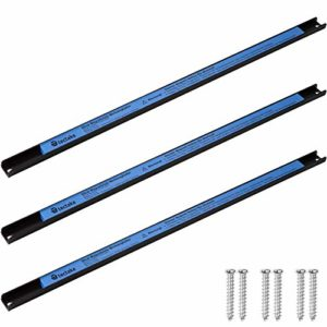 TecTake Barre magnétique Porte-Outils | Matériel de Montage Inclus | pour Les Outils et Autres ustensiles magnétiques – diverses modèles (3X 60cm | no. 402860)