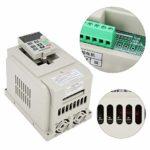 Variateur de fréquence, variateur de fréquence VFD Variateur de fréquence variateur 220VAC pour la commande monophasée de moteur à courant alternatif 1.5kW
