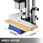 VEVOR Mortaiseuse MS36127A3 Mortaiseuse à bédane ronde 220v Mortaiseuse à bois Mortaiseuse Electrique pour couper des mortaises en bois telles que des cercles des carrés et des carrés spéciaux