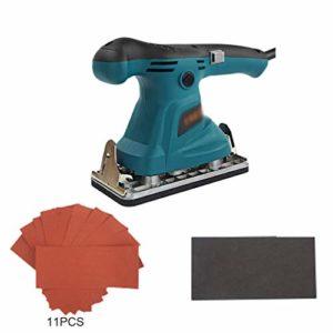 Xegood Machine à Papier de Verre électrique,200 W,13 500 r/Min IPoignée antidérapante I Professionnellement adaptée au Polissage et au meulage du métal, des Meubles et des Murs