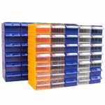 Zhaodong Papeterie 2 pièces en plastique épaissies combinées de type tiroir, type de boîte, composant, bloc de construction, matériel, boîte, matériel, boîte, matériel, livraison, couleur aléatoire, t