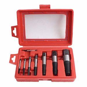 8 pièces extracteur de vis extracteur de vis de serrage vis endommagées 4-45mm outils de suppression