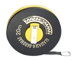Brueder Mannesmann M 807-20 Mètre ruban en fibre de verre