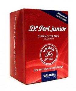 Dr. Perle Filtre Junior Filtre à Charbon Actif Grande-Ju de 9mm Max 4x Guirlandes Lumineuses 180, Carbone, Rouge, 10x 8x 5cm