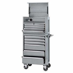 Draper 70501 Expert Armoire à roulettes et commode à outils 10 tiroirs Métallique