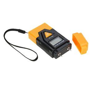 Fesjoy – Humidimètre numérique LCD en bois – Matériau de construction – Capteur d'humidité – Mesure de température