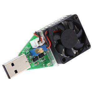 Fesjoy Module de charge DC3.7-13V USB réglable à courant constant de charge électronique 0.15-3.00 A