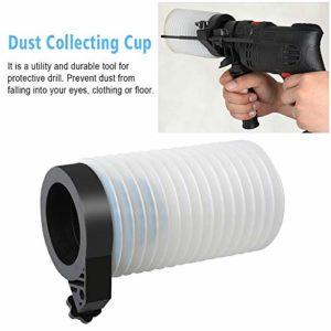 ORETG45 Tasse de collecte de poussière pour usage domestique et professionnel, Pas de zéro, Voir image, about 15×9.5cm