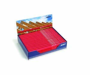 Edding Boîte de 100 Crayons de charpentier 6010 mine HB 30 cm