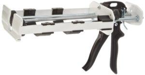 PC des produits en acier Distributeur Pistolet à calfeutrer, 600 ml, blanc, 1