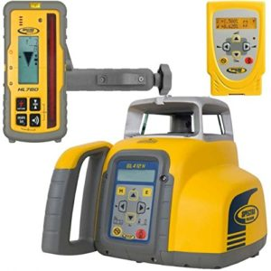 Spectra Précision gl412N de qualité laser avec télécommande/hl760Récepteur et kit de recharge–Jaune