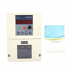 ZYL-YL Variateur de fréquence, Entrée monophasée / 3 Phase AC380V de Sortie Variable Convertisseur de fréquence Convertisseur de Vitesse du Ventilateur Contrôleur (1,5 KW)